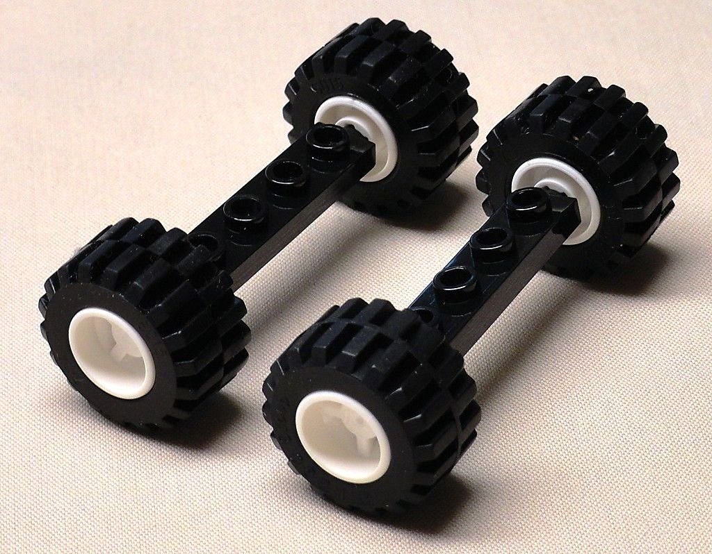 DEAL OF THE DAY!!! DO NOT MISS OUT!NEW Lego Wheels Tires Axle Sets CAR TRUCK VEHICLE PARTS city town 21mm x 12mm by Generic