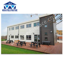 High rise steel structure school building prefab schools buildings modular school building