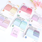 Wholesale Custom logo Creative Watercolor Gradient Japanese Kawaii Mini Paper Memo Sticky Note Pad