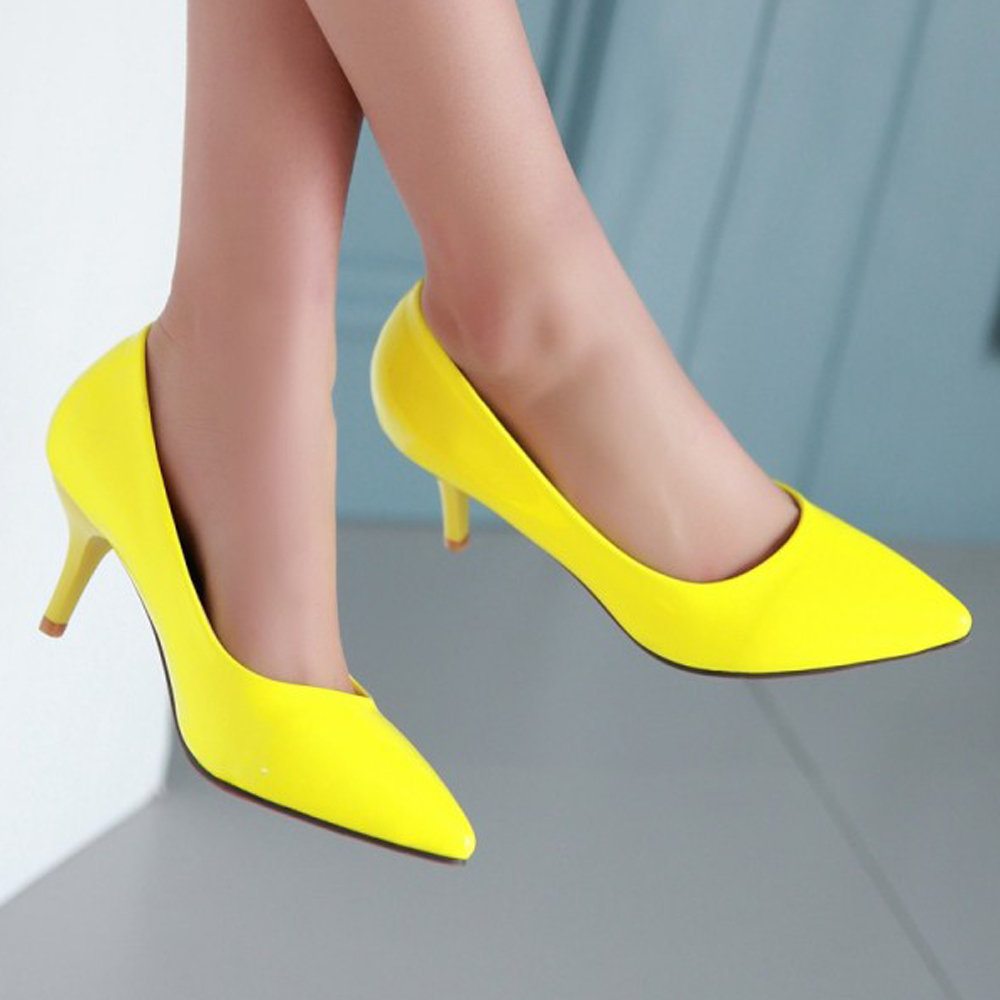 Purple wedding shoes low heel