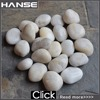 HS-PE06 natural polished agate pebble stone supply