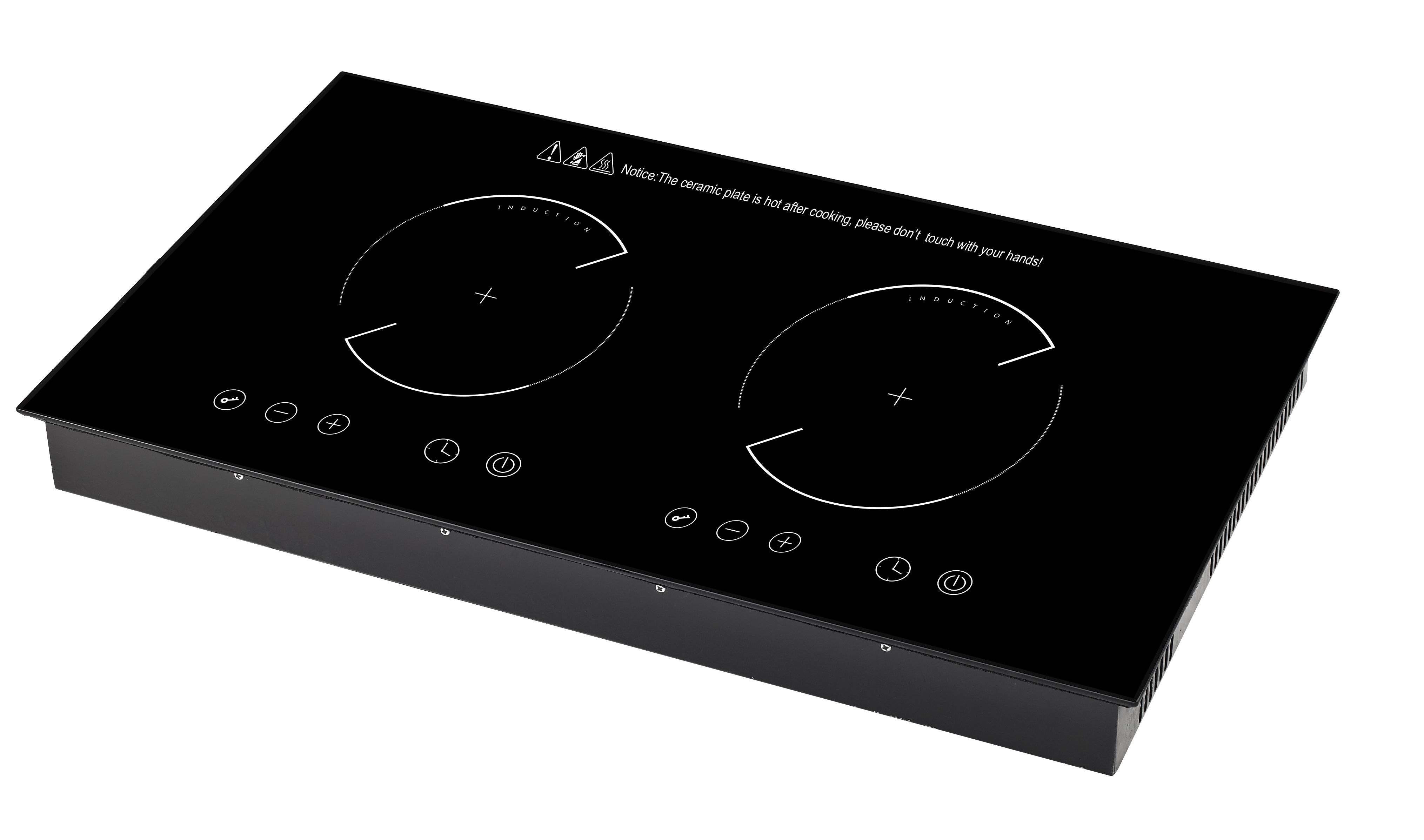 Electric Hot Plate Built-in Electric Hob 1 2 3 4 Burners Induction Cooktop