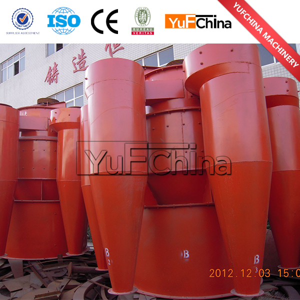 High efficiency dry limestone powder cyclone classifier