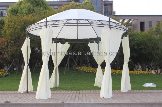2015 New Design Steel Tube Garden Gazebo