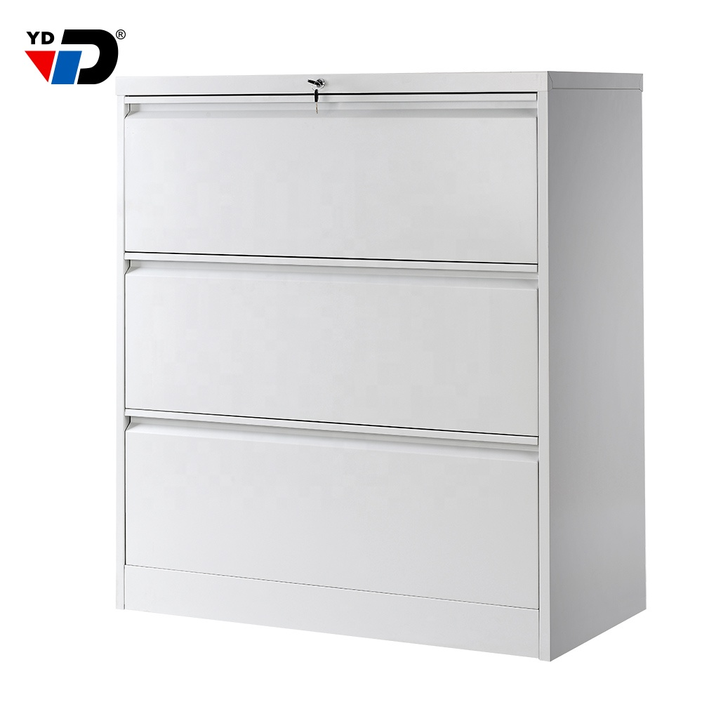 high quality office furniture factory customized office furniture 3 drawer lateral metal filing cabinet