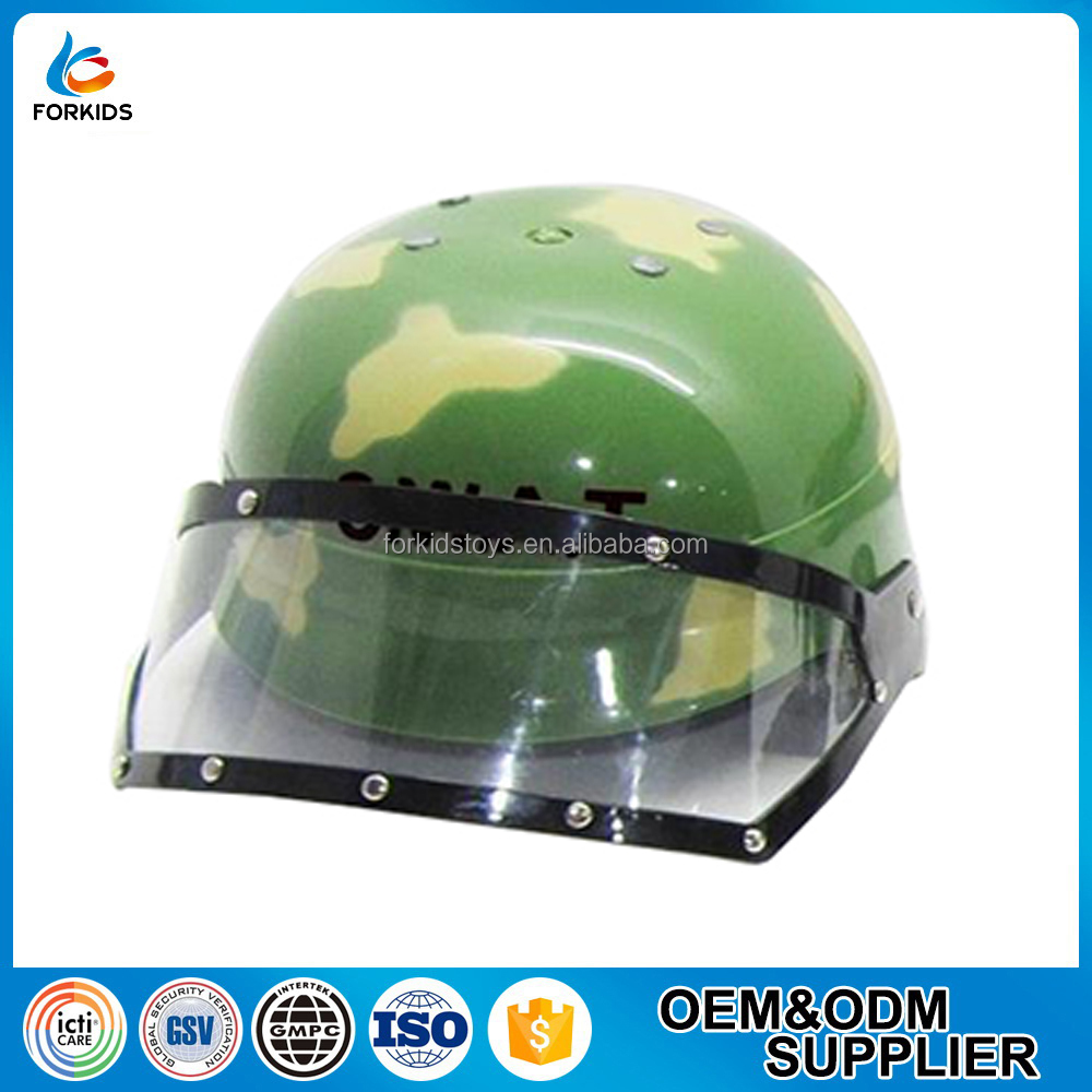 2016 HOT SELLING EDUCATIONAL PRESCHOOL ARMY TOY HELMET,KID'S ROLE PLAY TOY POLICE HARD HAT