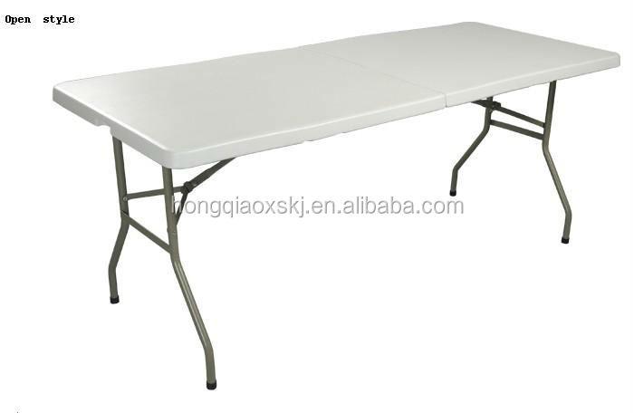 6ft Plastique Pliable Table Utilise Pliante Avec Chaises Tables A Manger En Fabrique