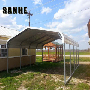 Galvanized steel carport roofing material/storage shelter/used carports for  sale
