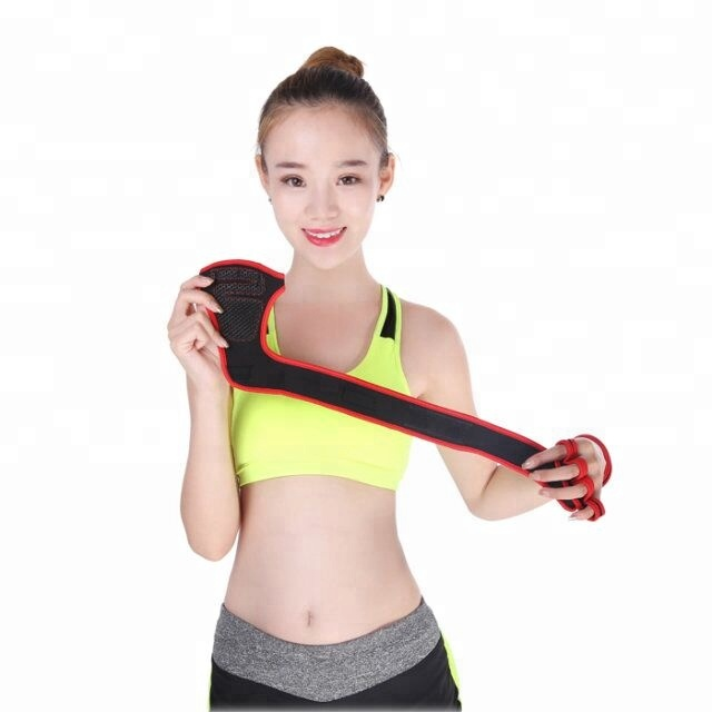 Hot Selling Gewichtheffen Pols Wraps Half Vinger Workout Gym Handschoenen