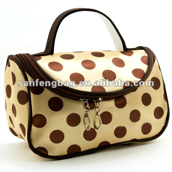 Polka Dots Cosmetic Case