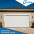 Auto operation sectional garage door with openers