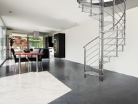 interior stainless steel spiral staircase/spiral stairs kits