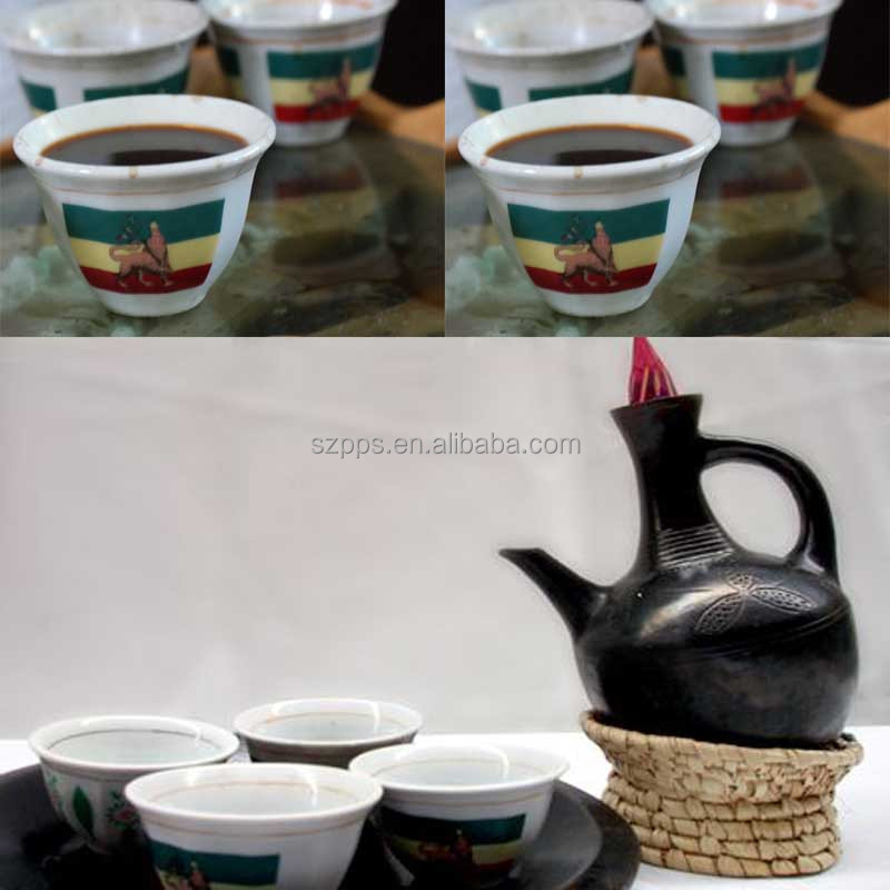Ethiopian And Eritrean Traditional Coffee Cups Lion Design Habesha Product On Alibaba