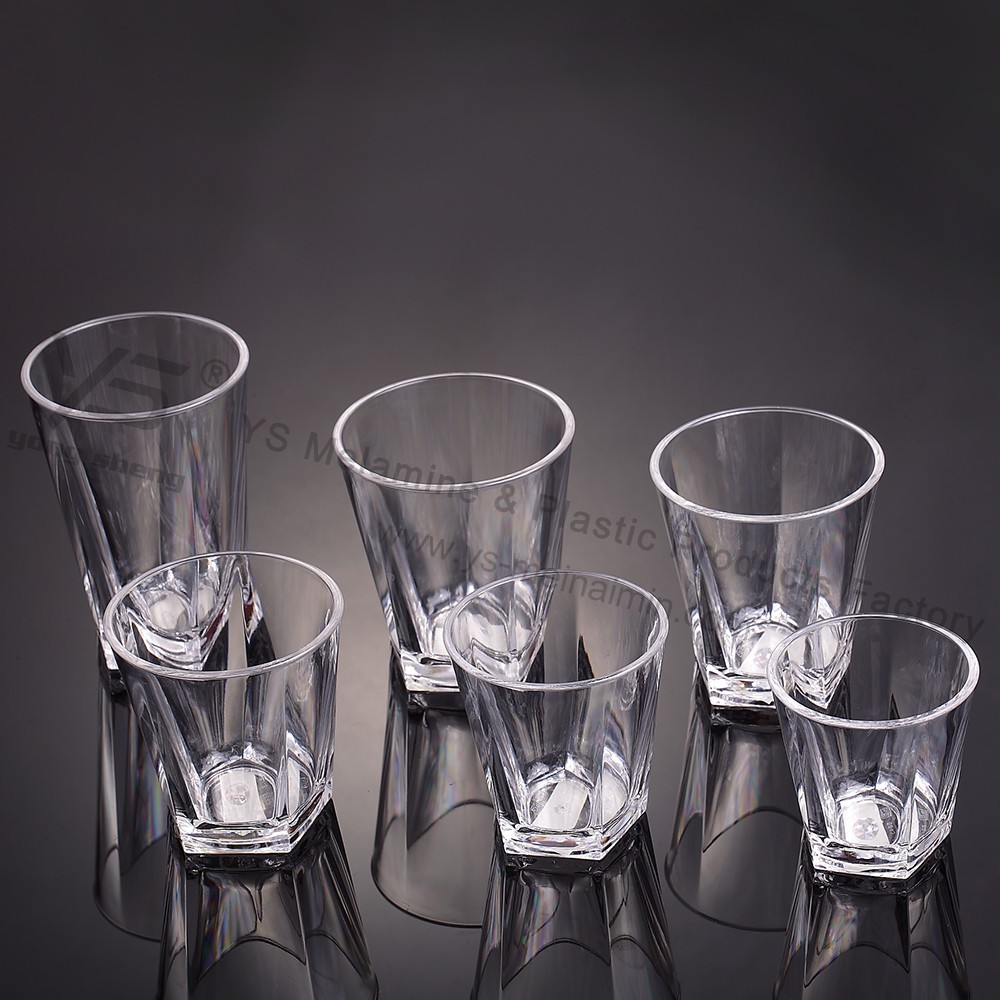 Beautiful Unbreakable Polycarbonate Drinkware,polycarbonate Barware,polycarbonate Cup