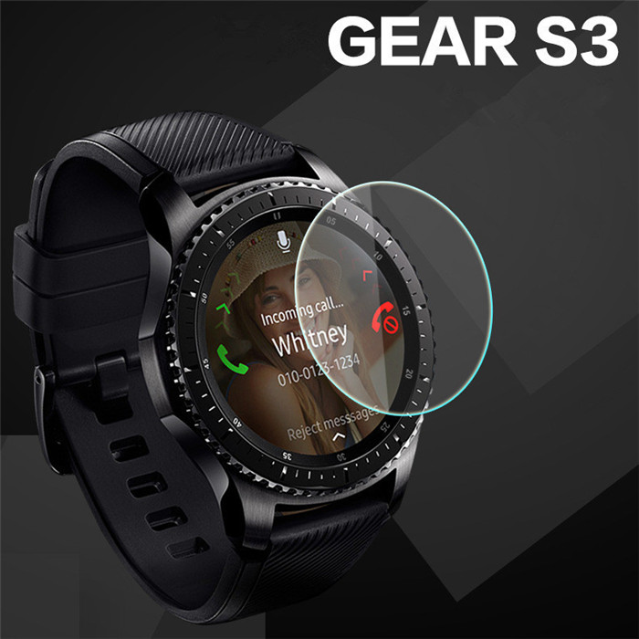 2.5D Tempered Glass Screen Protector For Samsung Gear S3 Watch