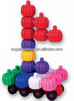 Gt-605 Plastic Connecting Toys For Children Ageometric Shape ...