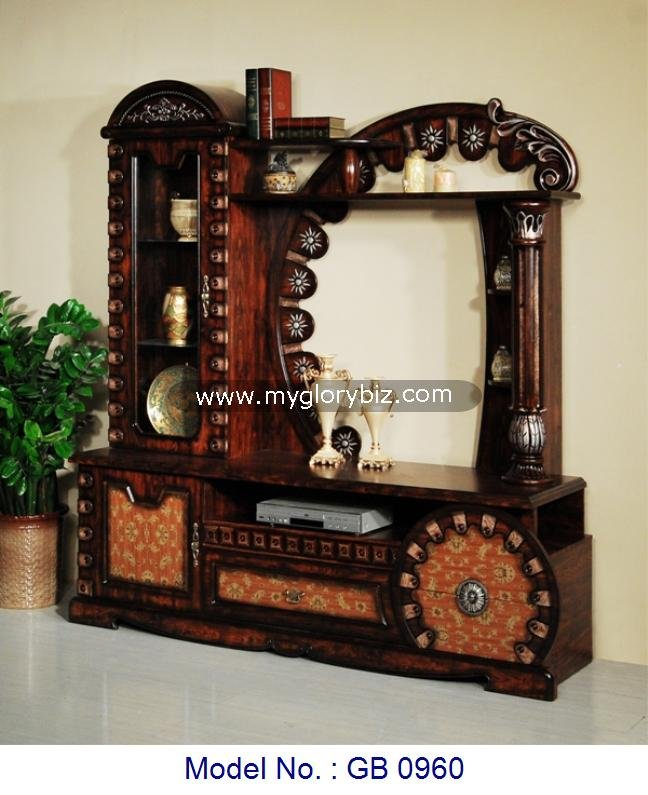 Antique Fancy Design Wooden Tv Cabinet,Classic Design Mdf Living Room Tv  Stand With Display Showcase,Mdf Furniture Living Room   Buy Wooden Tv  Cabinet ...