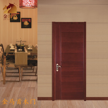 2017 Chinese Lastest Design100 Wood Doorsapartment Entry Door