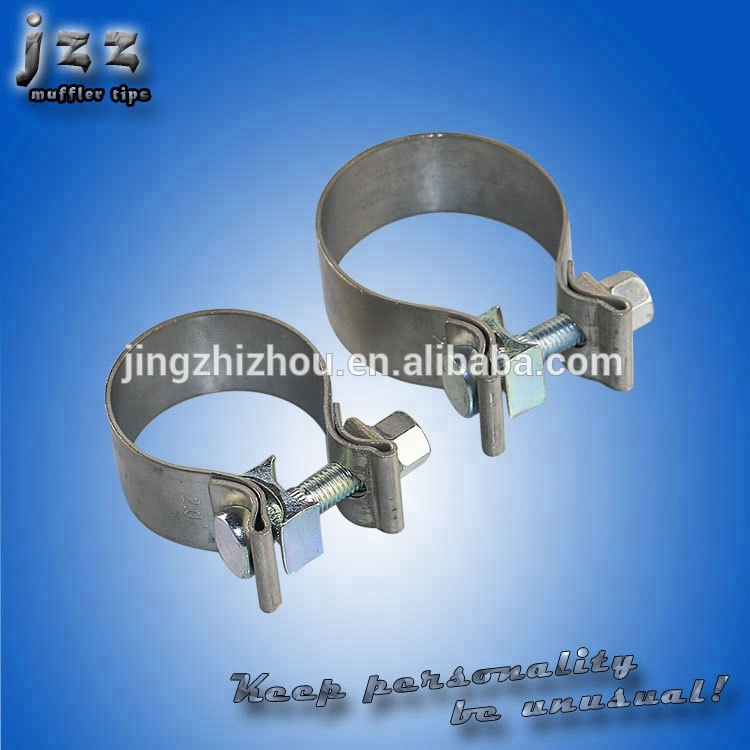 JZZ wholesale auto parts stainless steel exhaust O band Muffler clamp