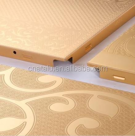Hot sale Art carving aluminum plate, artistic aluminum ceiling, customizable aluminum celing.