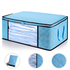 Foldable Fabric Underbed Duvet Comforter Closet Organizers For Clothes