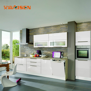 Fashion Modern Kitchen Unit Home Furniture Bake Painting Kitchen Cabinets