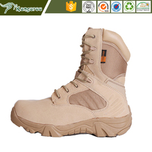 Custom Made Laced Military Mountain Boots