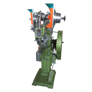 JZ-989GM Automatically Setting Shoe Making Machine For Strong Eyelets
