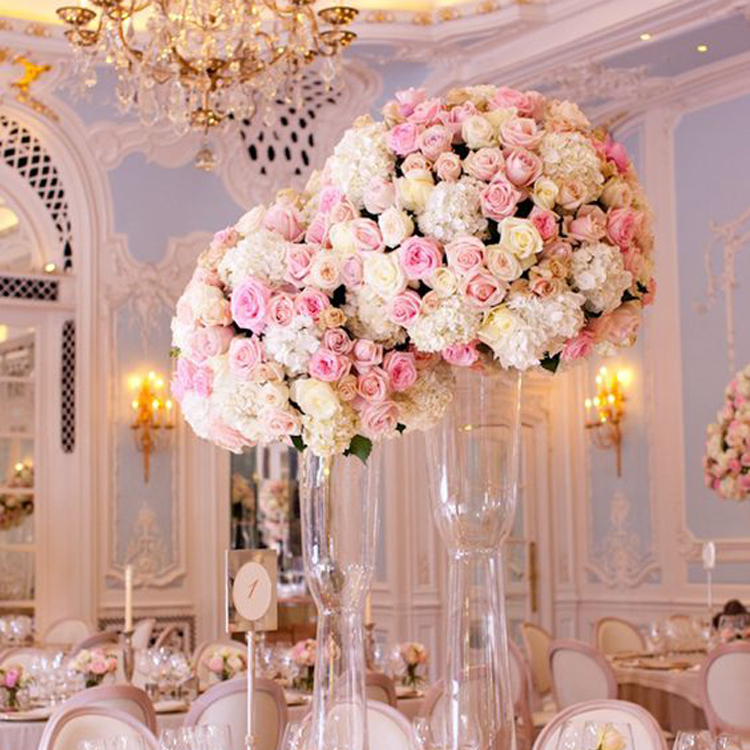 Ifg 45cm White Pink Rose Table Flower Centerpieces For Wedding Table Flower Decorative Buy Table Flower Centerpieces Wedding Table Flower Centerpieces Flower Centerpieces For Wedding Table Product On Alibaba Com