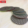 Midstar 100mm Dry Granite Diamond Polishing Pads for Angle Grinder