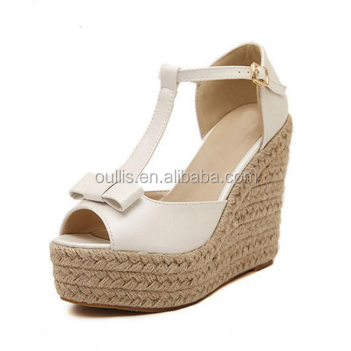 New Design Woman Shoes Wedge Sandals 2015 Summer Fashion Ladies ...