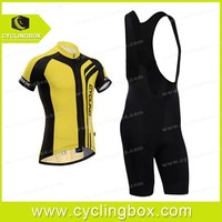 Pro 6D silicone pad team racing bike2014 cycle apparel/jersey&suspender shorts