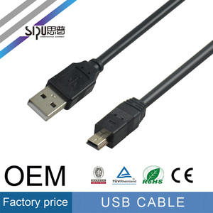SIPU high quality good mini usb cable wholesale usb Charge cable factory price data cable