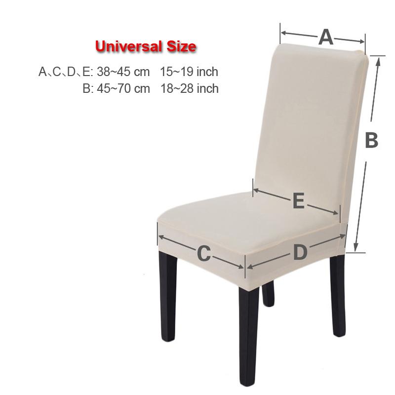 Nouvelle housse de chaise universelle en Spandex multifonctionnel imprimé fleurs, siège élastique amovible, housse de chaise extensible pour salle à manger