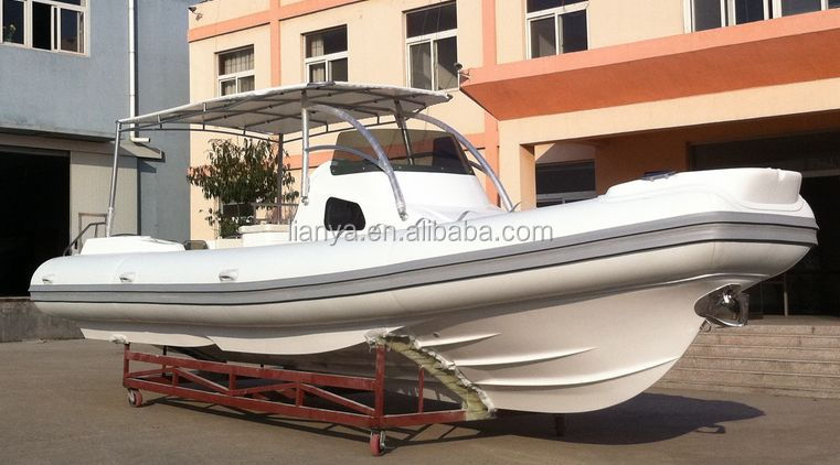 Liya 27 Feet Double Hull Rigid Inflatable Boat With Twin Engines