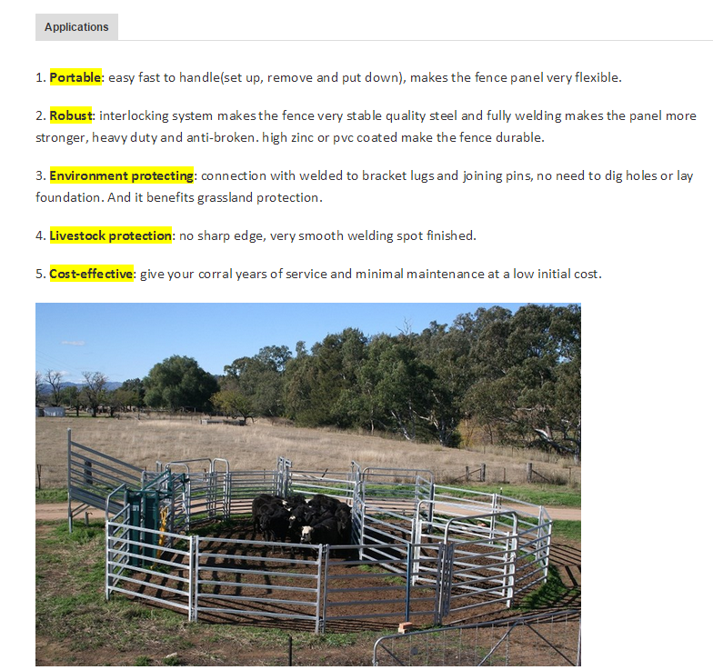 Fancy Wire Livestock Panels Component - Electrical and Wiring ...