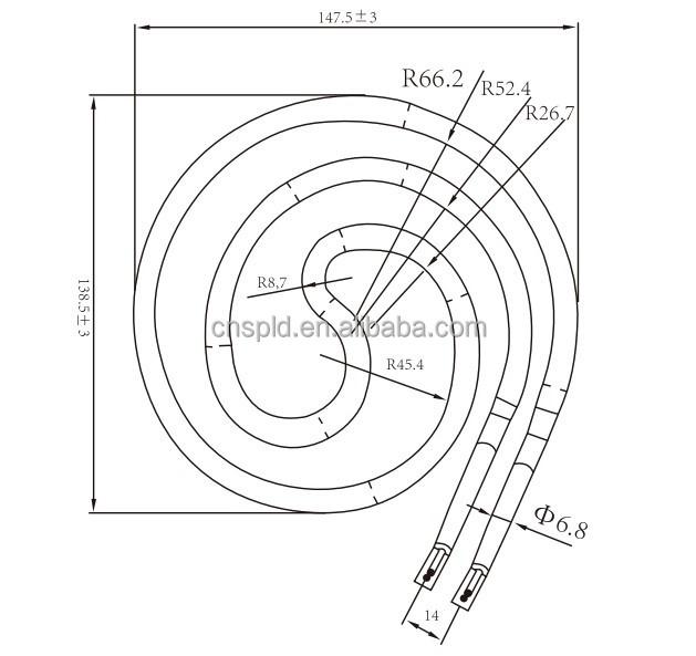 Coil Tube 240v Heating Element