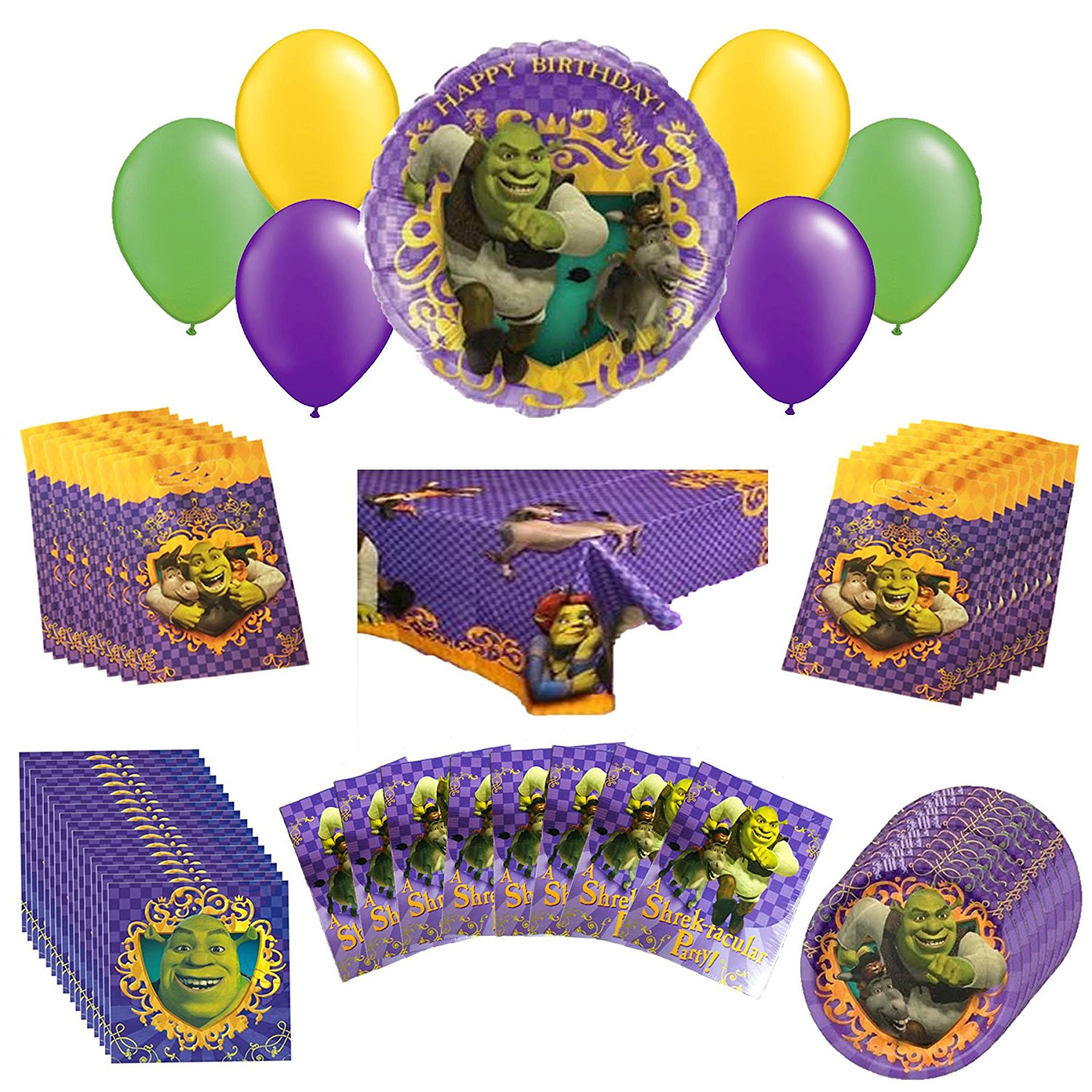 Dreamworks Shrek Party Pack 56pc