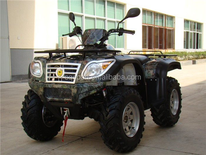 Street legal four wheel drive sports ATV with EPA certificated