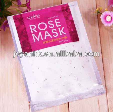powder peel off face mask