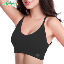Wholesale OEM Design Sexy Image Girl Xxx Sexy Seamless High Support Sports Bra