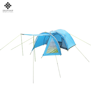 Dropship DS-CT1010 Factory cheap price one living room 3-4 person waterproof easy up winter tent camping