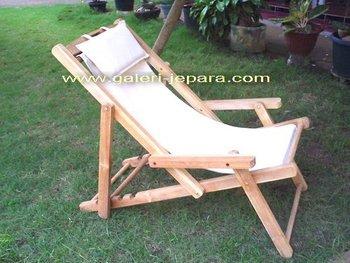 Plage Chaise Longue Teck En Plein Air Meubles Jepara