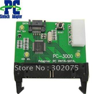 Disque dur SATA à IDE carte mère adaptateur pour PC 3000