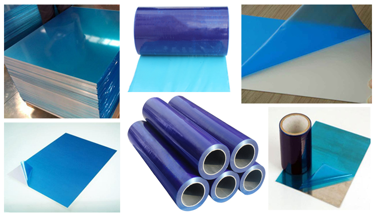 Factory Supplier PE Plastic Blue Max Protective Film