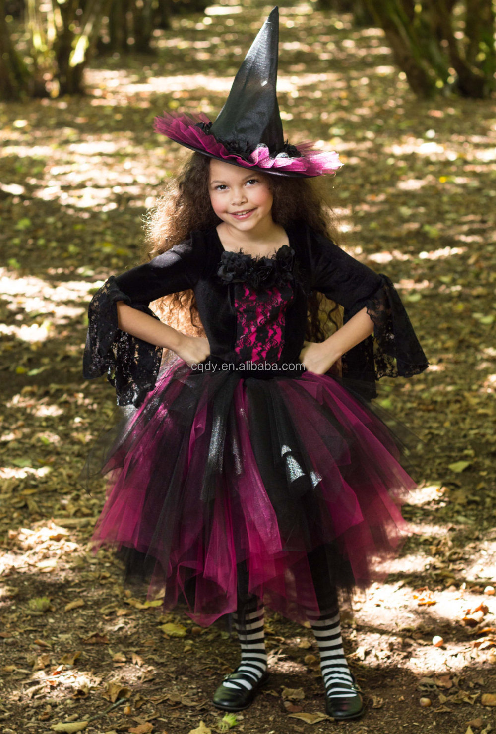2014 New Design Little Witch Costume / Party Dress For Halloween ...