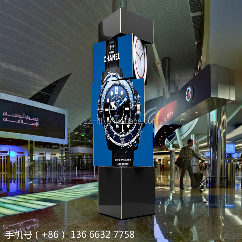 latest advertising led technology airport video display