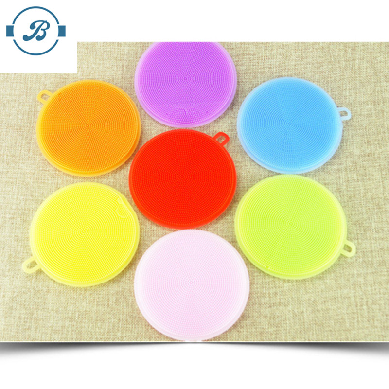 The cheapest newly silicone kitchen cleaning magic sponge for washing dishes