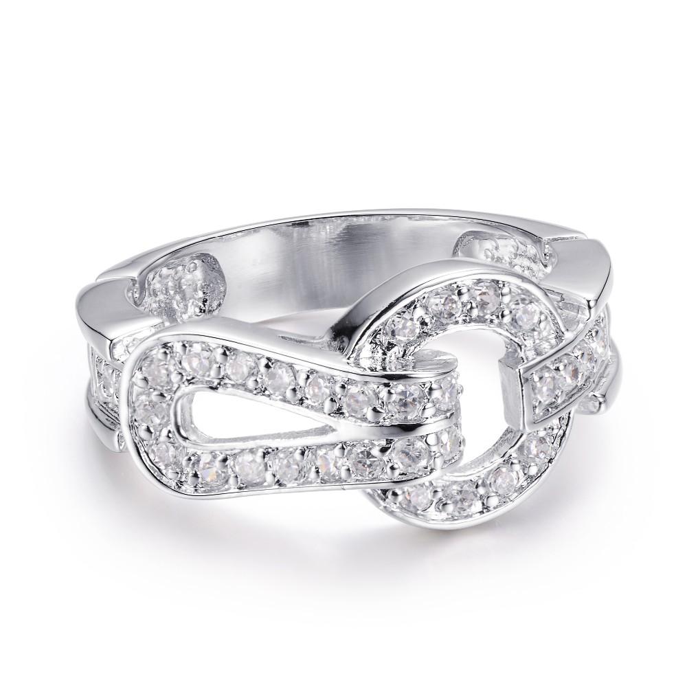 01bc206814b2 925 Plata Diamante Valor Anillo De Plata 925