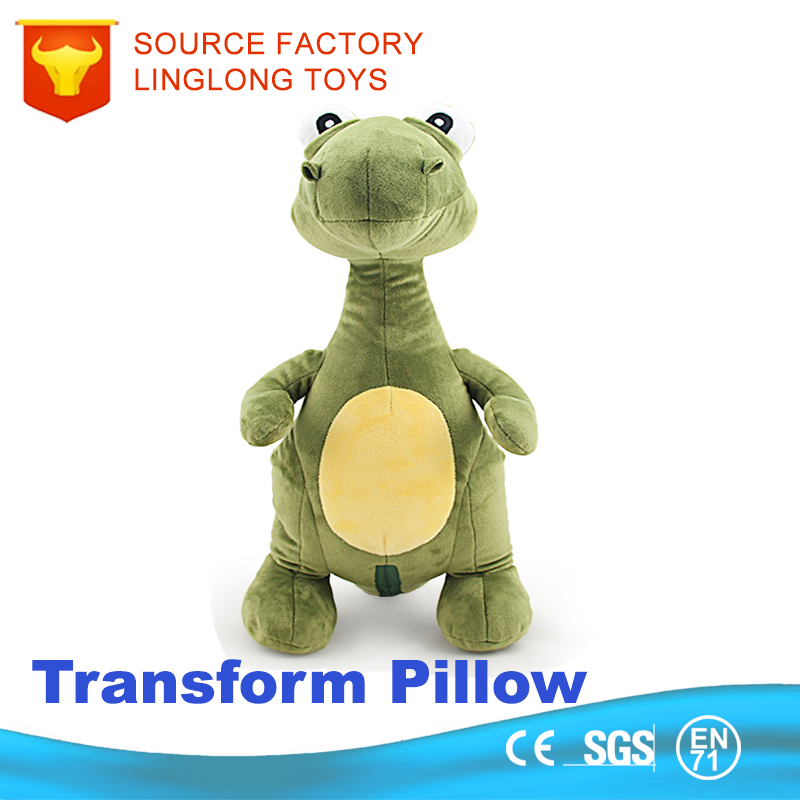 Plush Toy Chair Headrest Plush Decorative Cushion Inserts Dinosaure Doll Shift Neck Baby Head Pillow
